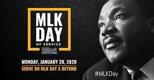 MLK Day of Service 1/20/20