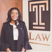 Adetola Ajayi featured in the Temple ESQ Magazine