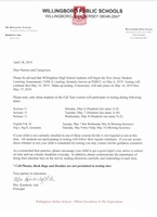 NJSLA Testing Notification Letter