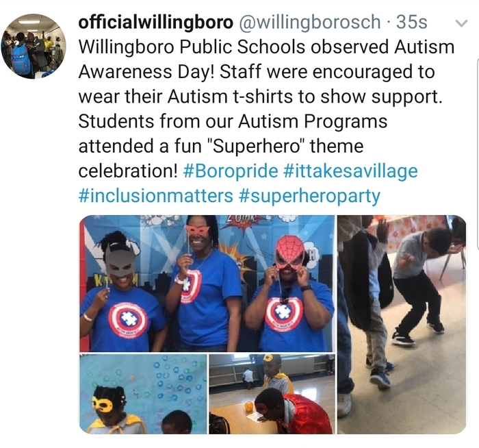 Autism Awareness Celebration