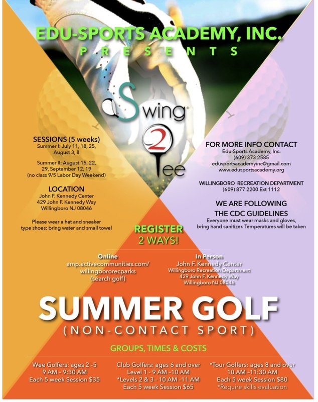 EDUSPORTS ACADEMY SUMMER GOLF PROGRAM