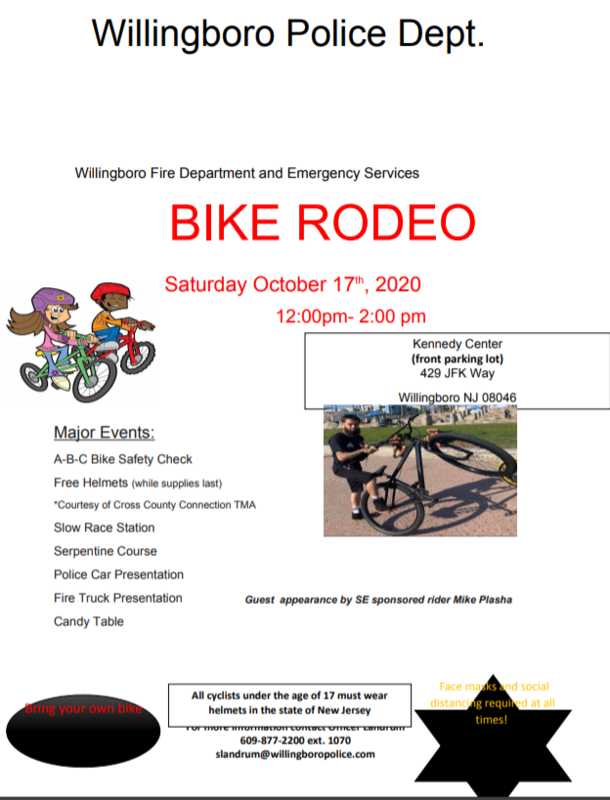POLICE DEPARTMENT BIKE RODEO