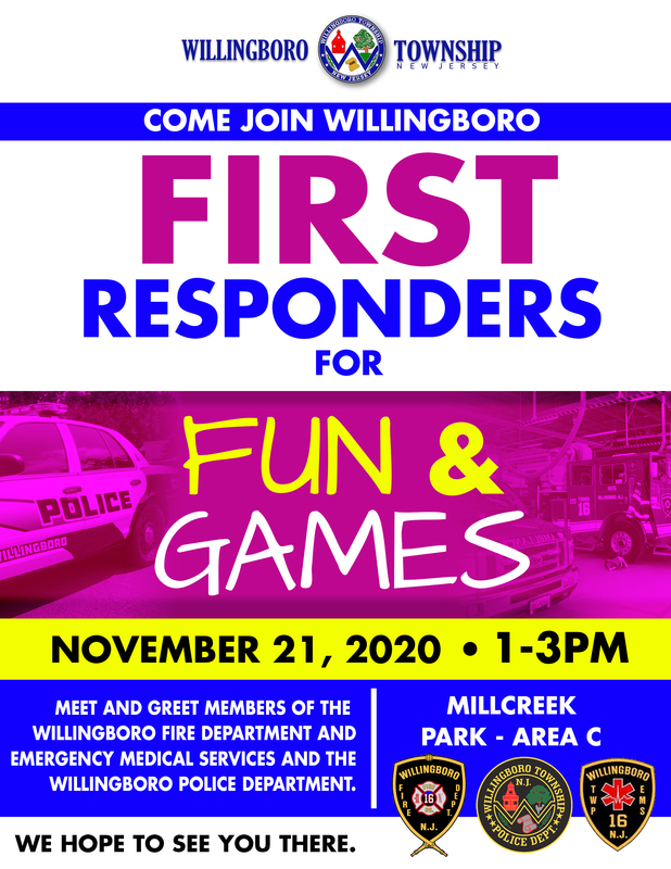 FUN & GAMES WITH FIRST RESPONDERS